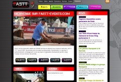 site de FASTT Events
