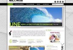 Site d'information en ligne